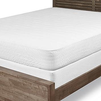 Amazon Com Louisville Bedding Company Cotton Top Queen Mattress Pad