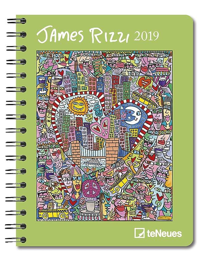Agenda 2019 James Rizzi - Pop Art - artista américain ...