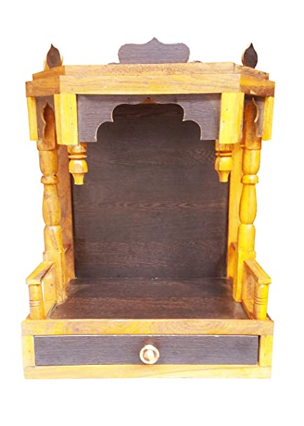 Buy Make Wooden VB Beautiful Plywood Mandir is Perfect For Pooja