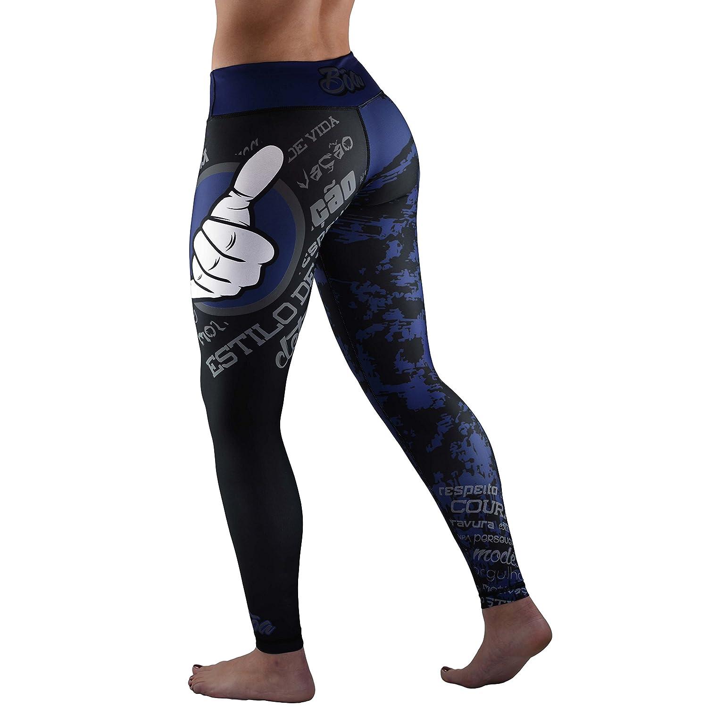 B/õa S/ão 2,0/Blue Leggings Sport Damen//Compressor//Corsaire M/ädchen