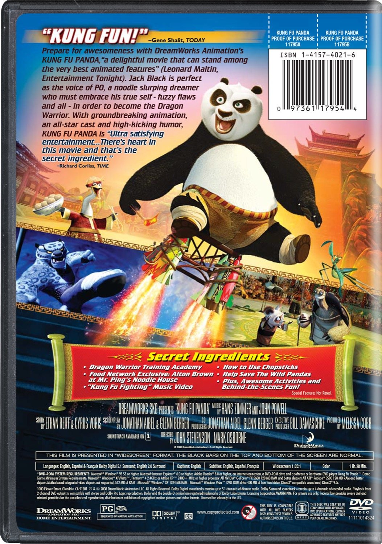 Amazon com: Kung Fu Panda (Widescreen Edition): Jack Black