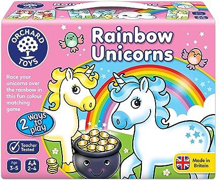 Orchard Toys 095 - Juego de unicornios arcoíris, multicolor , color/modelo surtido: Amazon.es: Juguetes y juegos