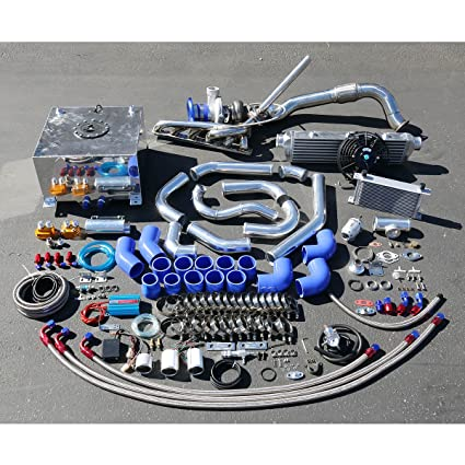 Amazon.com: For BMW 3-Series E36 High Performance 25pcs GT35 Turbo Upgrade Installation Kit: Automotive