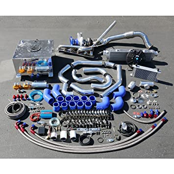 For BMW 3-Series E36 High Performance 25pcs GT35 Turbo Upgrade Installation Kit