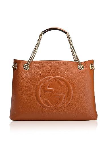 93e97012683fe9 Amazon.com: Gucci Womens Handbag 308982 A7M0G 1000 Orange: Shoes