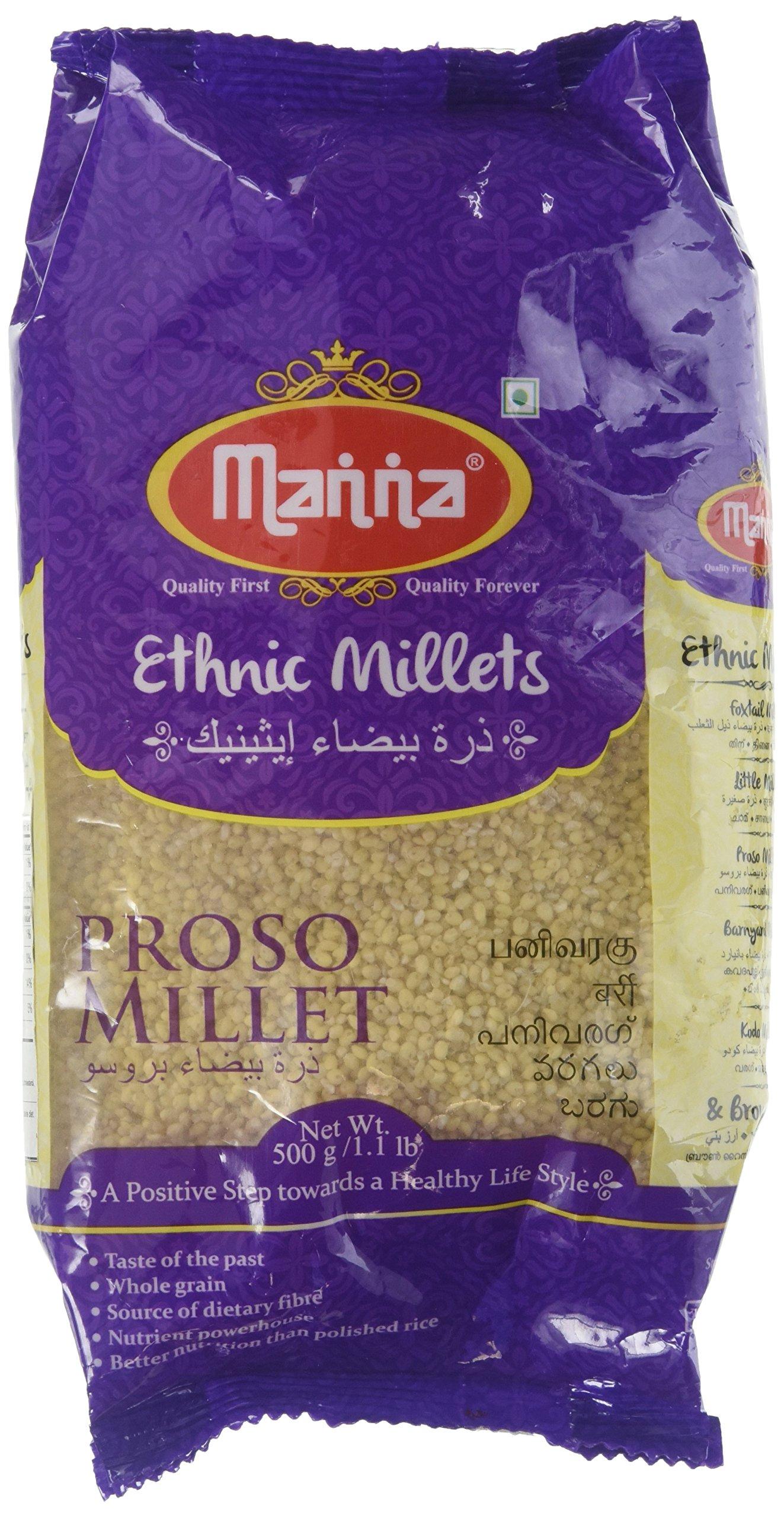 Manna, Ethnic Millets, 1.1 Pound(LB)