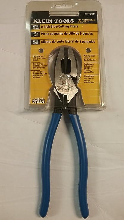 """Klien 9"""" Side Cutting - Fish Tape Pulling Pliers"""