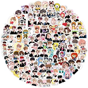 BTS Stickers, BTS Stickers Pack for 160Pcs Waterproof Vinyl Kpop Stickers are Auitable for Laptops, MacBook, Skateboards, Luggage, Cars, Bikes, Bedroom, Motorcycle, PS4, Xbox ONE