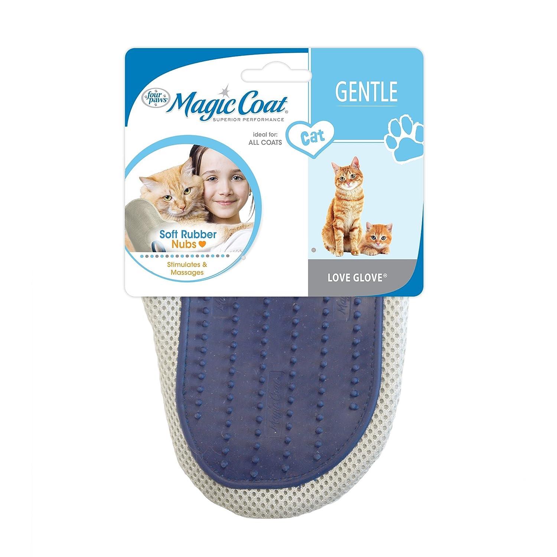 Amazon.com : Four Paws Magic Coat Love Glove, Cat Brush Glove : Pet ...