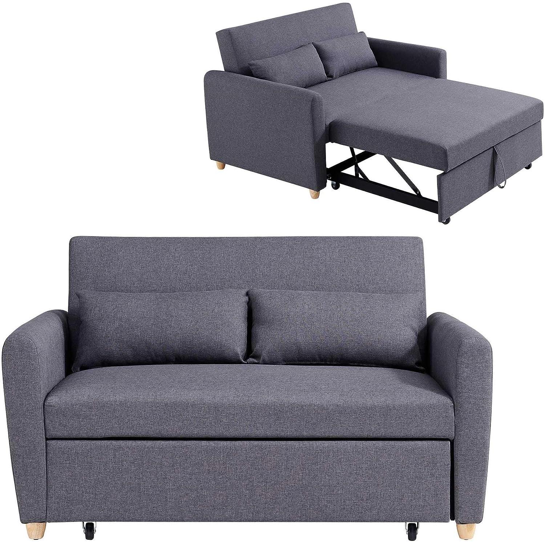 Mobilier Déco Kaya Lit canapé
