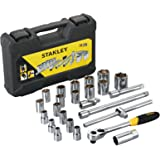 Stanley STMT72795-8 Drive Metric 1/2 inch Socket Set (24-Pieces)