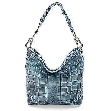 Handtasche Schultertasche (dunkelblau) Emily & Noah pS6qzH