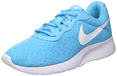 6e16a063a76 Nike - WMNS Tanjun BR - Color  Light Blue-White - Size  6. 0  Buy Online at  Low Prices in India - Amazon.in