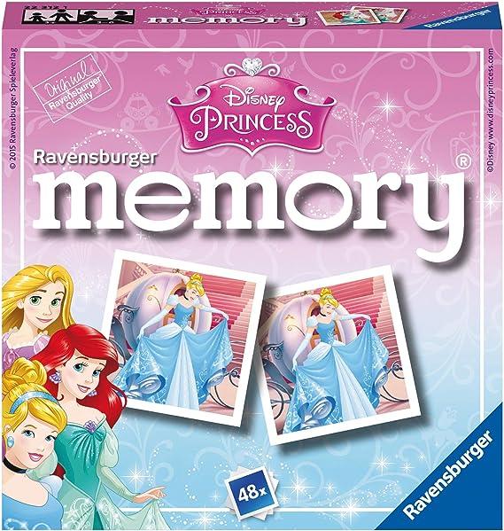 Ravensburger Disney Princess Mini Memory Matching Picture Snap Pair Spiel Für Kinder Ab 3 Jahren Spielzeug