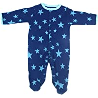 Long-Sleeve Romper Baby Boy Footed Overalls Jumpsuit Outfit Clothes