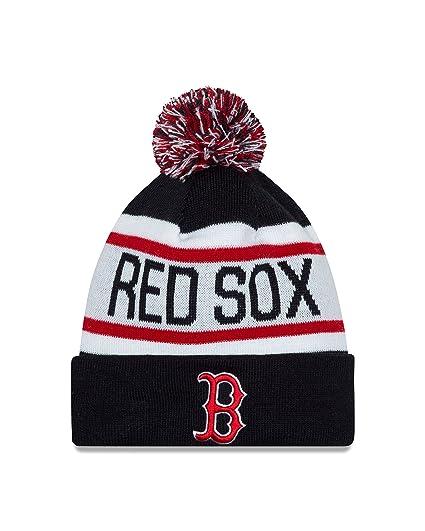 d5717f05605 Amazon.com   MLB Boston Red Sox New Era Biggest Fan Redux Knit ...