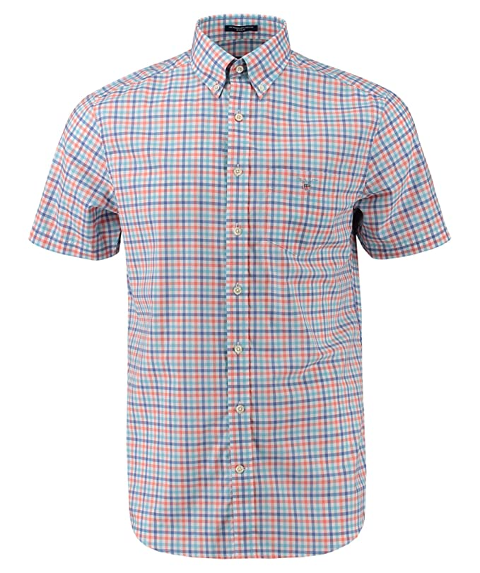 Gant Herren Hemd Baumwollhemd Broadcloth REG BD Regular Fit Button-down-Kragen