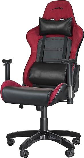 acheter populaire 1ebe5 48990 Speedlink REGGER Gaming Chair - Chaise de Bureau Optimisée pour le Gaming  sur Ordinateur, Rouge