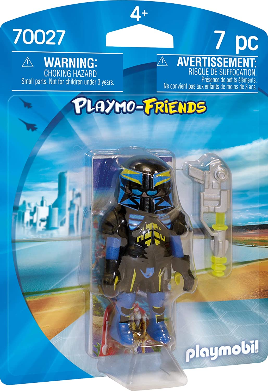 PLAYMOBIL- Agente Espacial Juguete, Multicolor (geobra ...