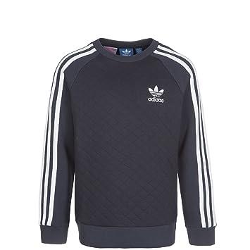 Felpa Graublau Adidas Amazon It Per Bambini Crew Weiß Fleece