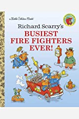 Richard Scarry's Busiest Firefighters Ever! (Little Golden Book) Kindle Edition