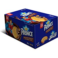 Lu Prince Chocolate Flavour Cookies, 38 gm - Pack of 12