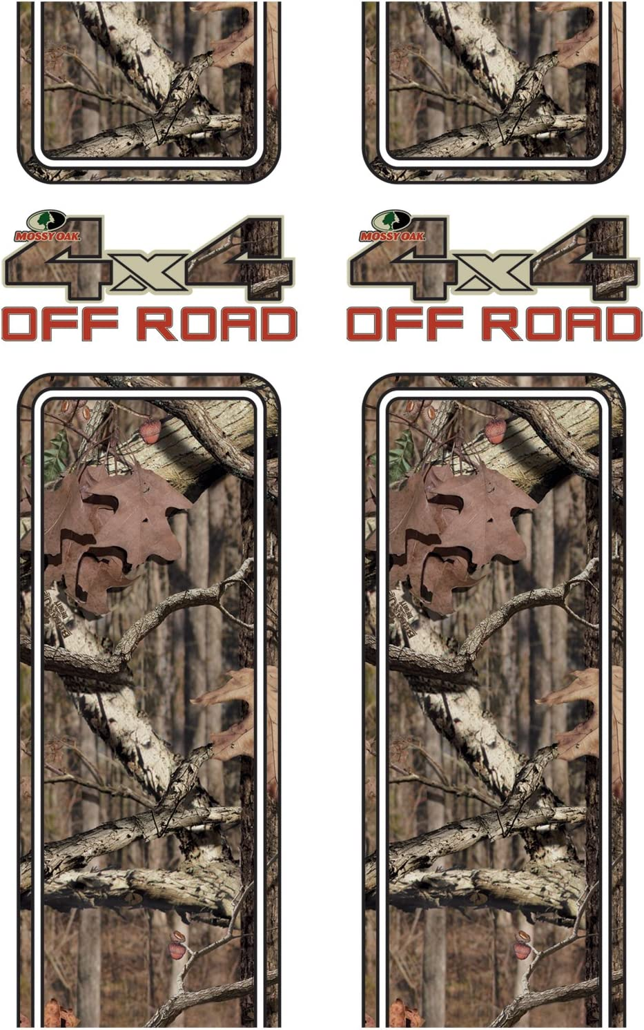 Mossy Oak Graphics 12001-BI Break-Up Infinity 4x4 Off Road Rear Quarter Panel Kit