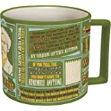 Mark Twain Coffee Mug - Twain's Most Famous Quotes and Depictions - Comes in a Fun Gift Box