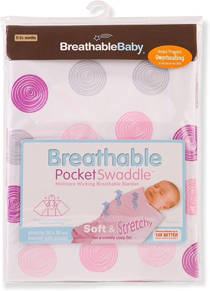 0-3m Breathable Baby Pocket Swaddle