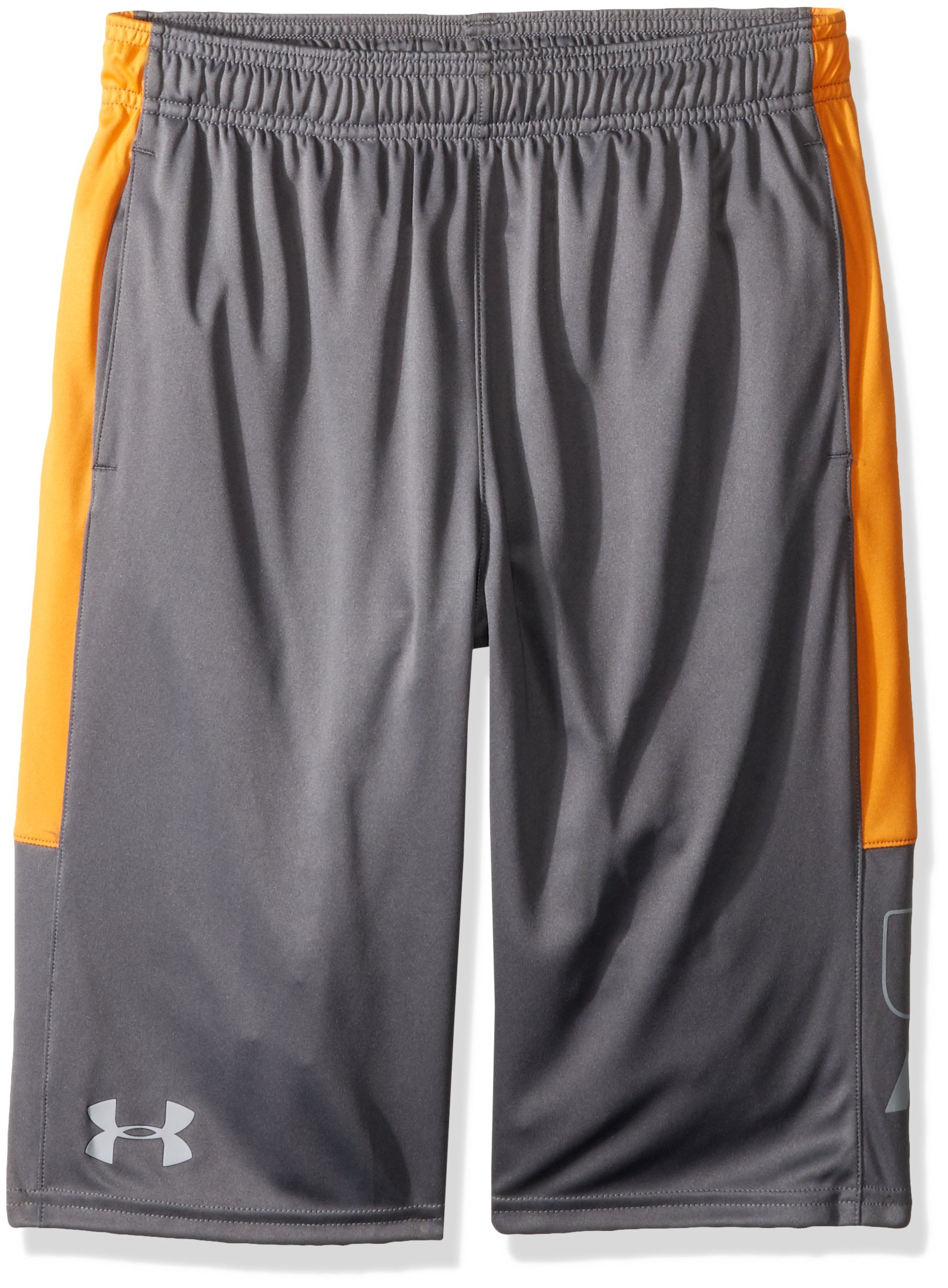 Under Armour Boys Instinct Shorts,Graphite /Overcast Gray Youth X-Large by Under Armour