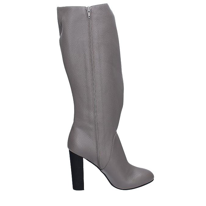 Le Marrine Damen Stiefel & Stiefeletten Grau Grau, Grau