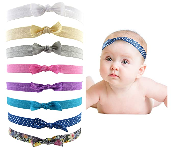 3c668ef73 Image Unavailable. Image not available for. Color: Styla Hair Baby Girls  Headbands ...