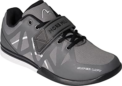 More Mile Super Lift Crossfit Weightlifting Shoe - Grey-9  Amazon.co ... 00424eaf4