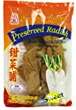 Superior Quality PRESERVED SWEET RADISH - 8 oz - Product of Thailand