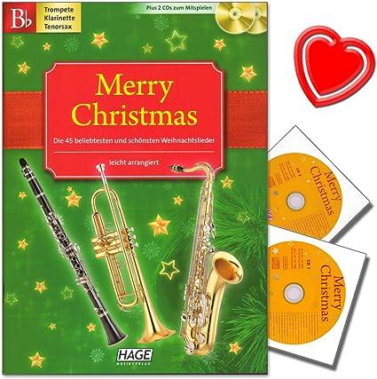 Merry Christmas, salida para B de instrumentos: trompeta, B ...