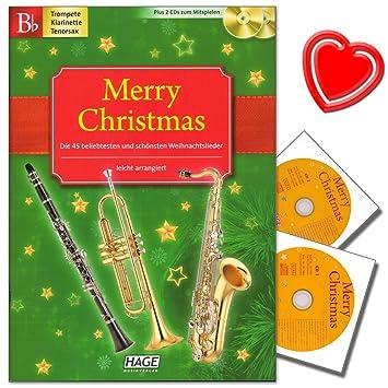 Feliz Navidad Clarinete.Merry Christmas Salida Para B De Instrumentos Trompeta B