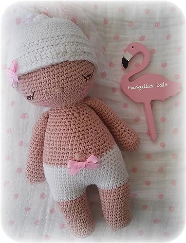 BEBÉ Recién Nacido. Crochet . Amigurumi. ENVÍO GRATIS: Amazon.es ...