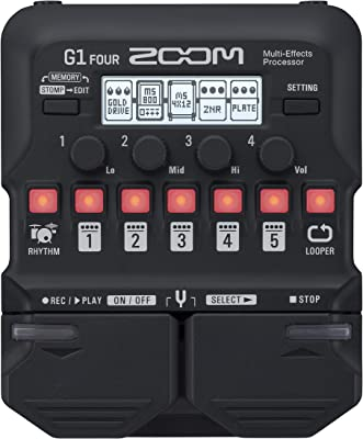 Zoom G1 Four Multi Effects Pedal