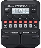 Zoom G1 FOUR Guitar Multi-Effects Processor Pedal, With 60+ Built-in effects, Amp Modeling, Looper, Rhythm Section…