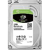Seagate BarraCuda 2TB【 2年保証 】正規代理店 3.5インチ HDD 内蔵 ハードディスク SATA 6Gb/s 64GB 7200rpm デスクトップPC向け ST2000DM008