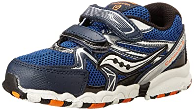 9bb9aecc Saucony Boys Baby Cohesion H&L Running Shoe (Toddler)