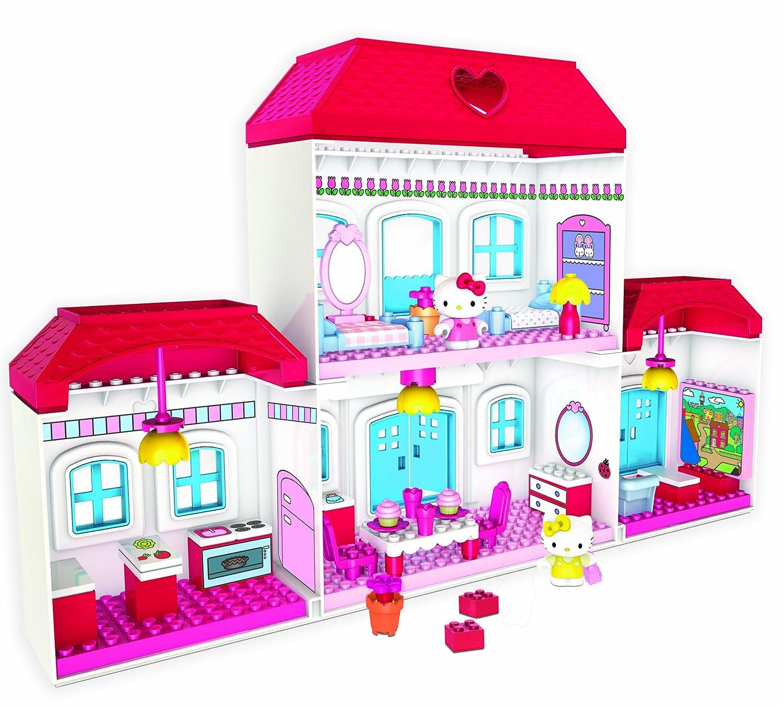 Amazon Megabloks Hello Kitty House Toys & Games