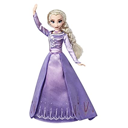 Amazon.com: Disney Frozen Arendelle Elsa Fashion Doll con ...