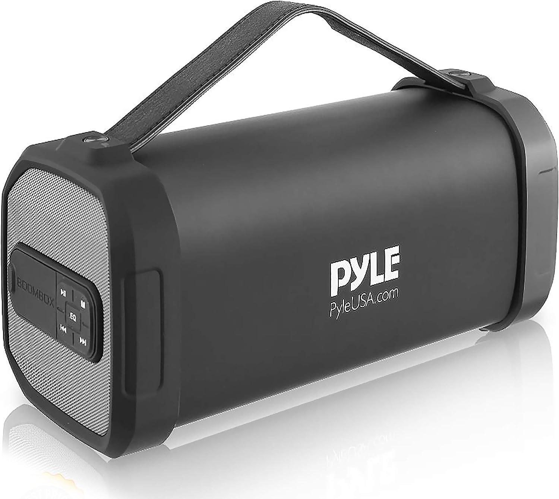 Pyle PBMSQG9 - Altavoz inalámbrico portátil con Bluetooth, 150 W, con batería recargable, conector de entrada AUX de 3,5 mm, radio FM, MP3, lector ...
