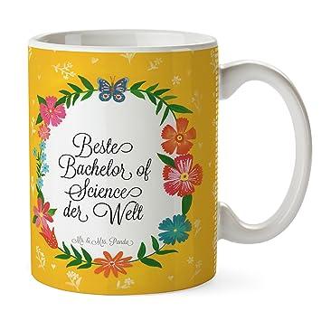 Mr Mrs Panda Tasse Design Frame Happy Girls Beste Bachelor Of