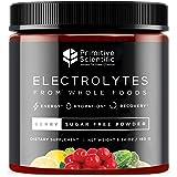 Primitive Scientific Whole Food Electrolyte Powder (Berry Flavor)   Sugar-Free, Vegan-Friendly Electrolyte Supplement…