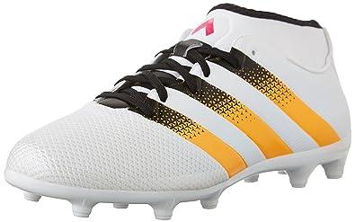 adidas Performance Women\u0027s Ace 16.3 Primemesh FG/AG W Soccer Shoe,White/Gold