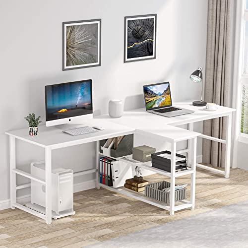 94.5 inches Two Person Desk