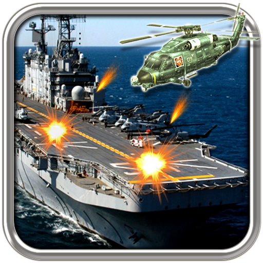 Battle Carrier - Navy Gunship Carrier Battle: Battleship VS Copters Shooting