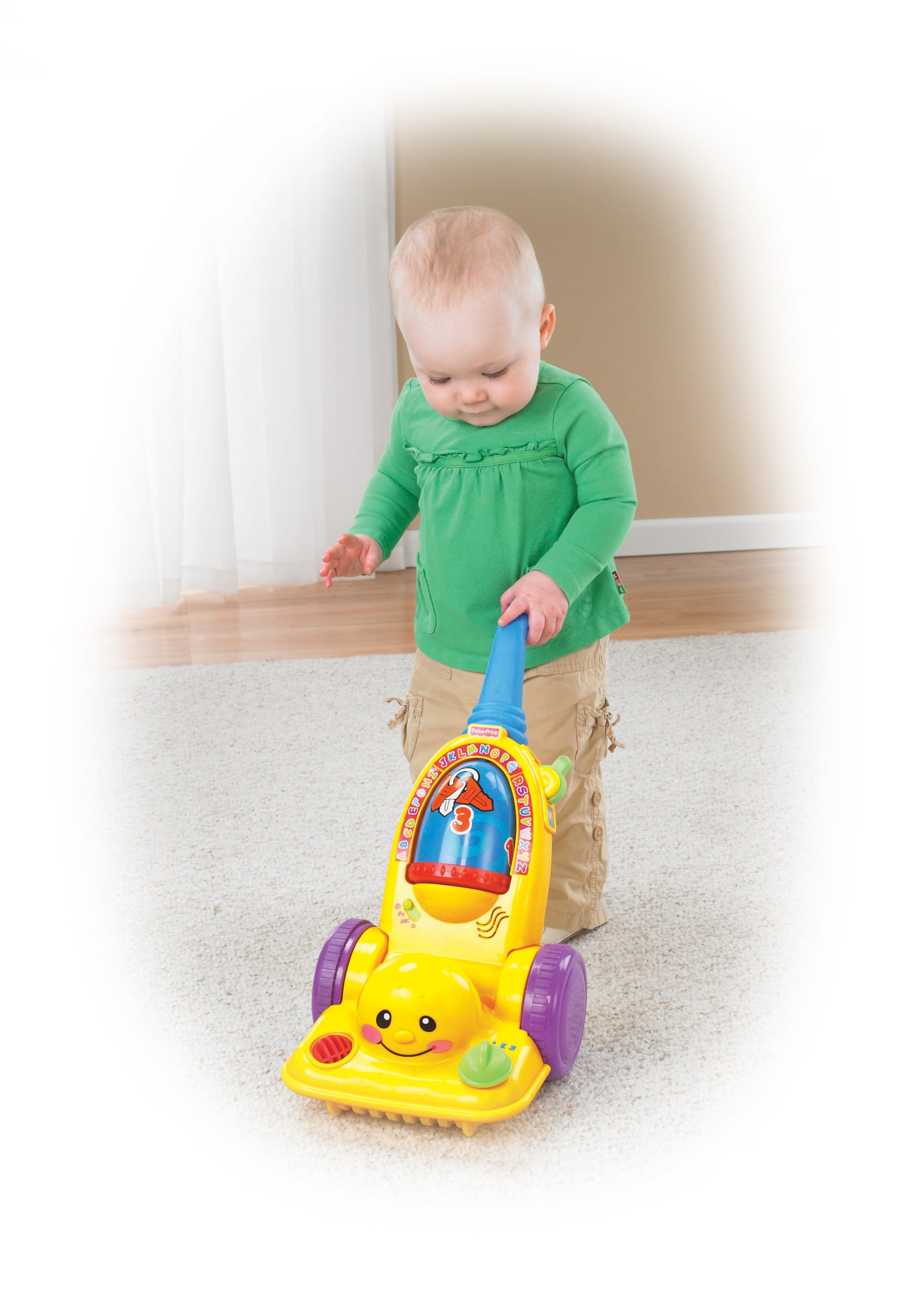 Fisher-Price Laugh & Learn Learning Vacuum Cleaner